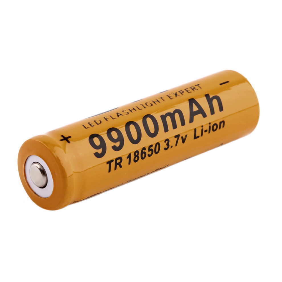 gif 18650 3 7v 9900mah rechargeable li ion battery for led flashlight torch dp ebay. Black Bedroom Furniture Sets. Home Design Ideas
