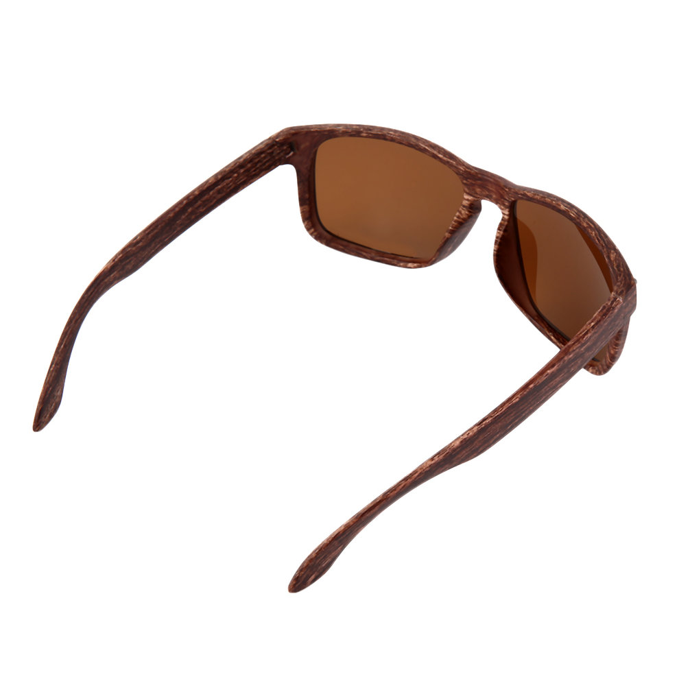 Mens Fashion Sports Sunglasses Wooden Square Frame Shades ...