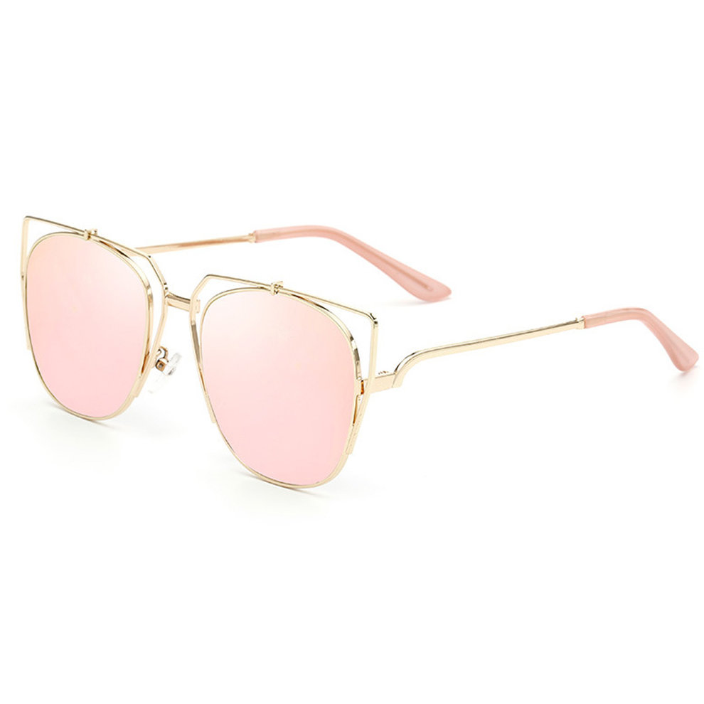 Women Heart Authen Personality Sunglasses Polarized Gray ...
