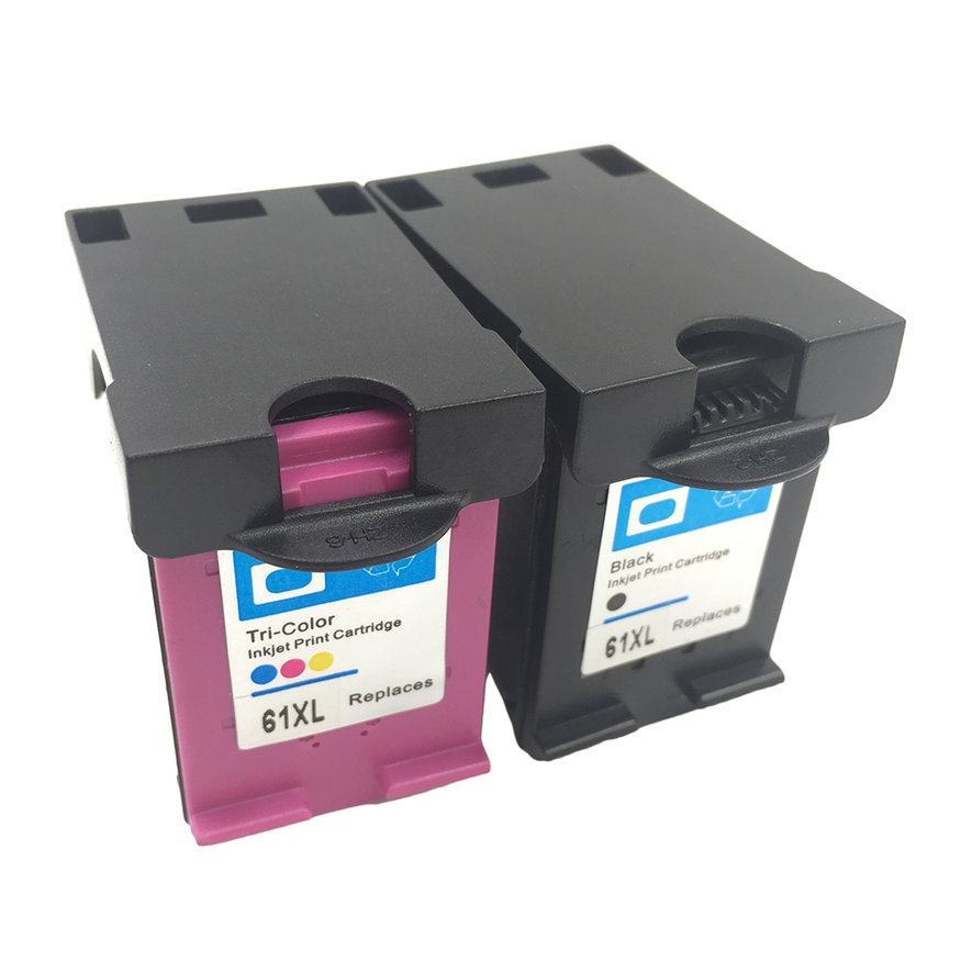 Non-OEM Ink Cartridge for HP 61XL/61 for Officejet J110a ...
