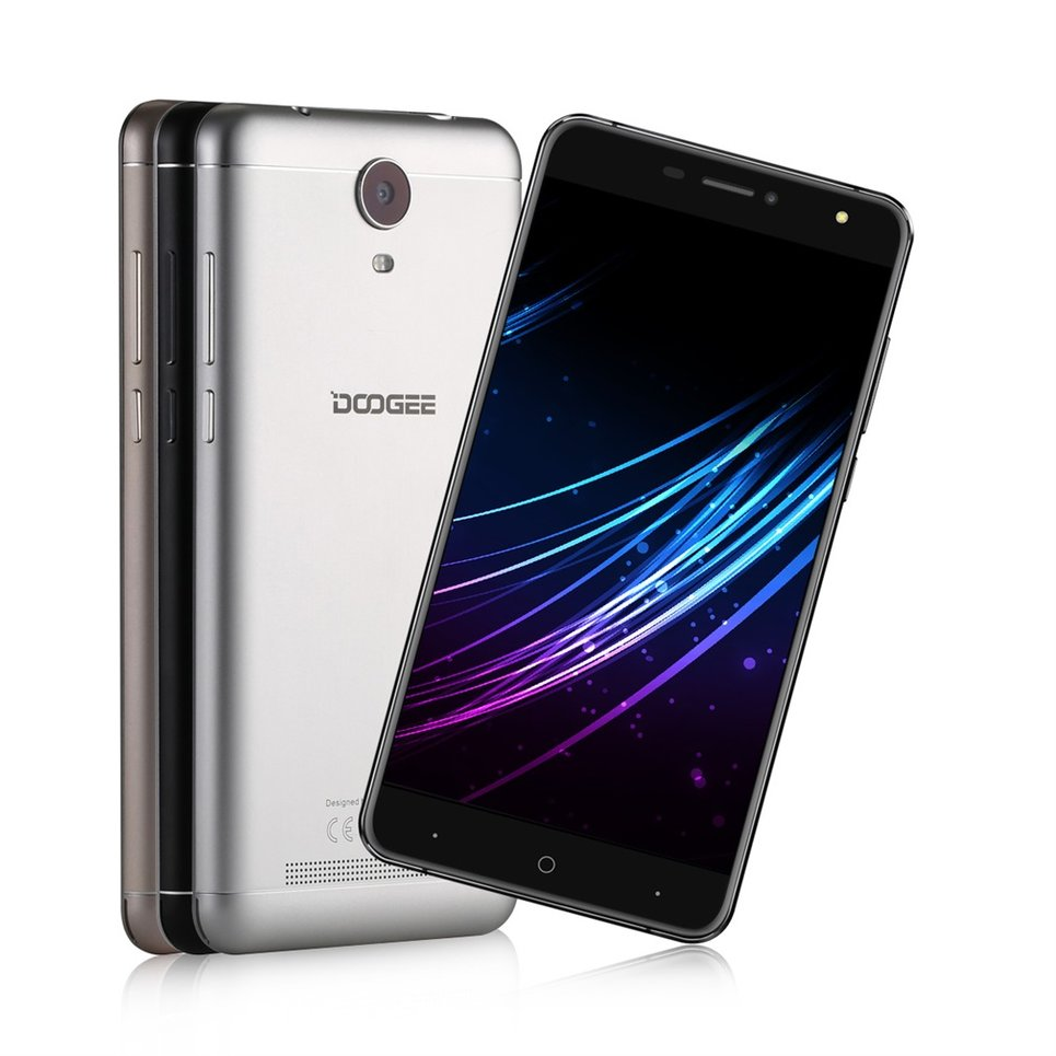 how to turn on a doogee smartphone