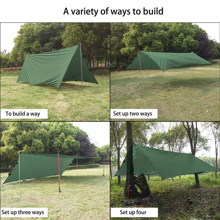 Details about OUTAD 4 5x6 Meters Ultra-light 40D Silicon Coating Sun Shade  Sail for Outdoor EH