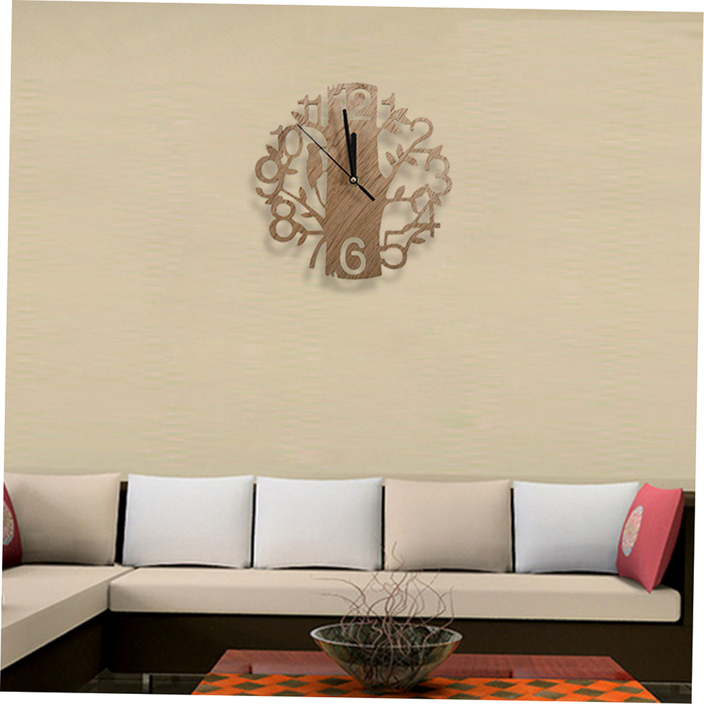 Vintage Design Wall Clock Fashion Style Home Living Room Clock ...