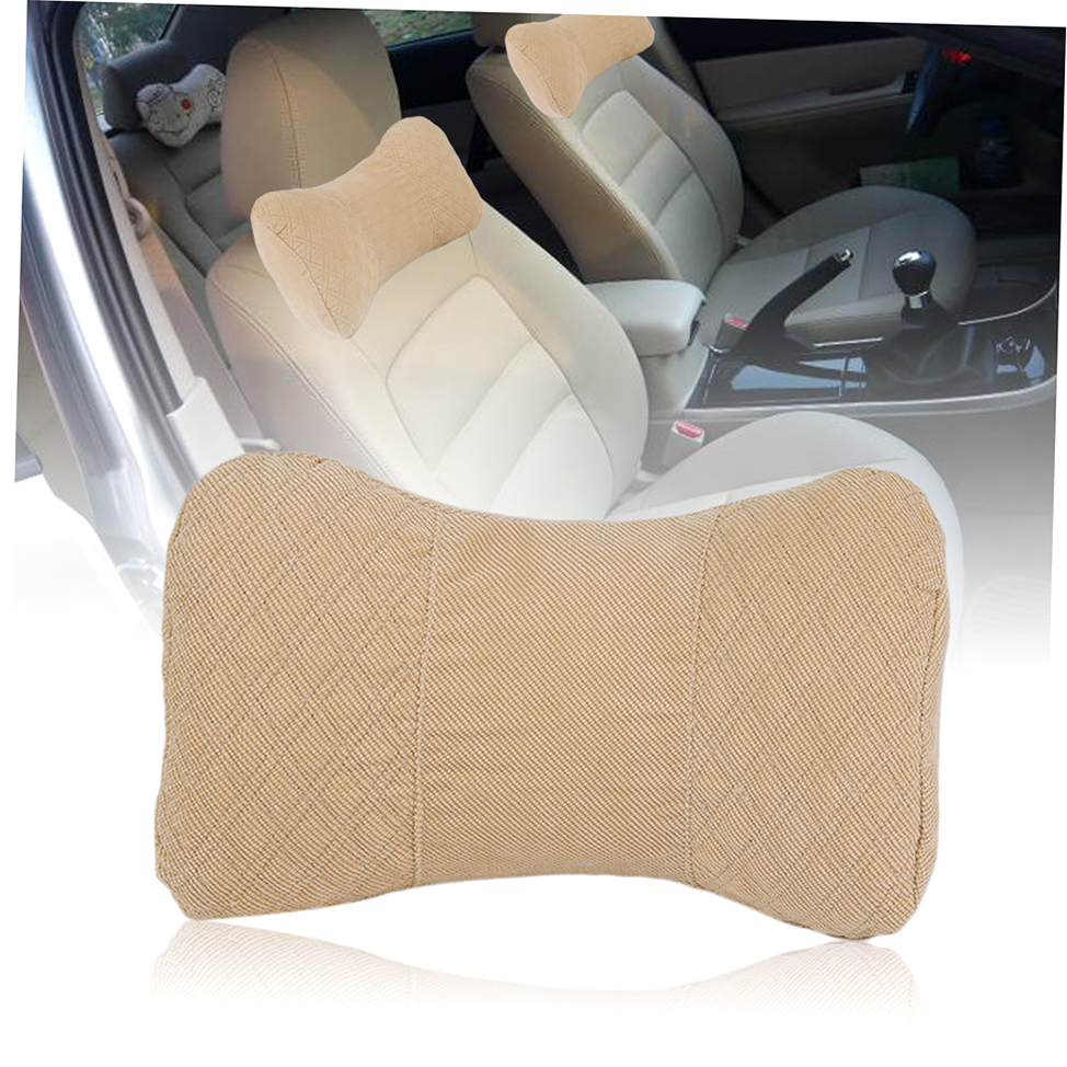 memory car seat cushion headrest neck pillow rest support comfortable pillow au ebay. Black Bedroom Furniture Sets. Home Design Ideas