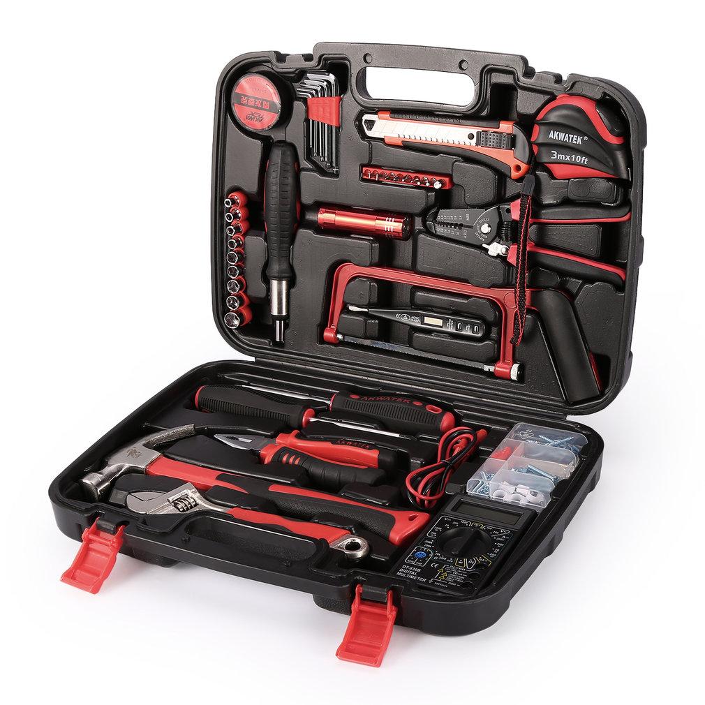 Details about 79 PCS Home Repair Set Portable Case Apartment Home Car Trunk  Hand Tool Kit USA