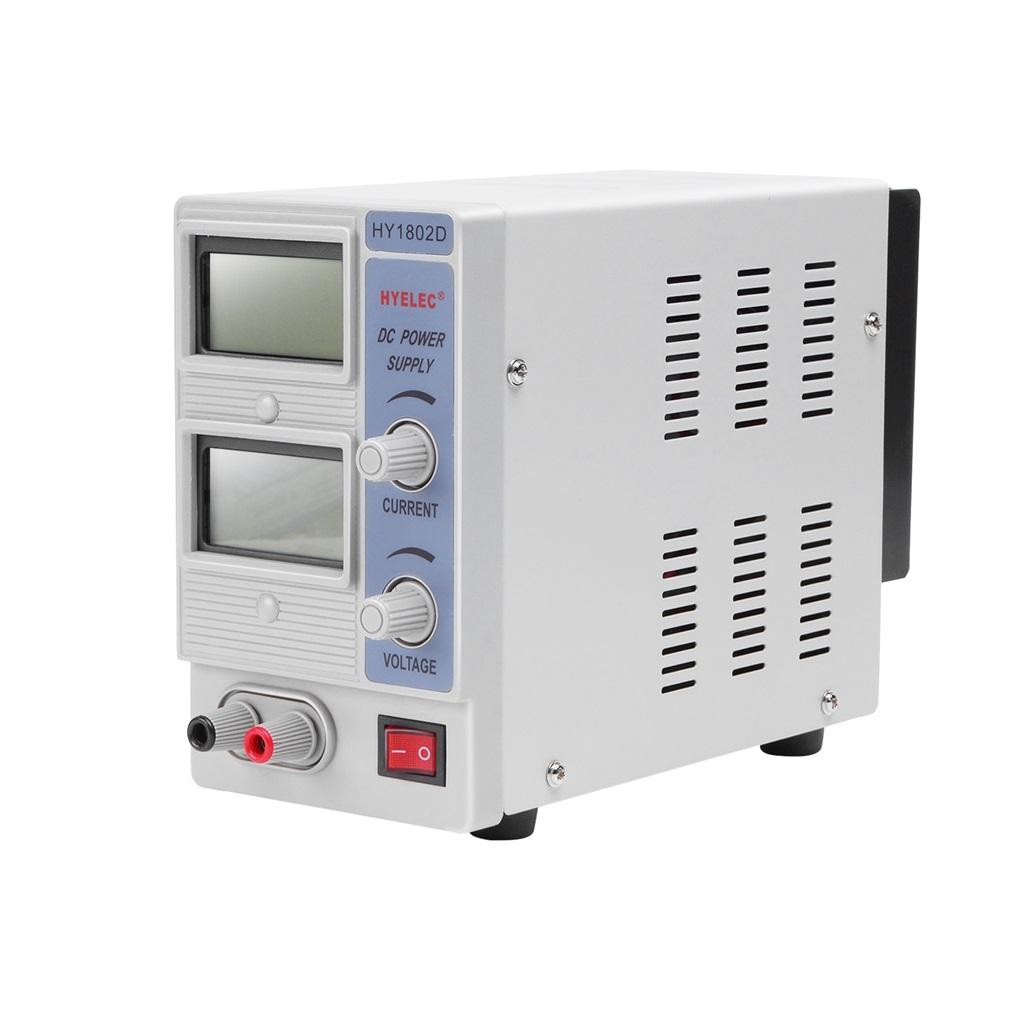 HY1802D DC Programmable 110V AC Adjustable DC Power Supply Digital US//UK Plug