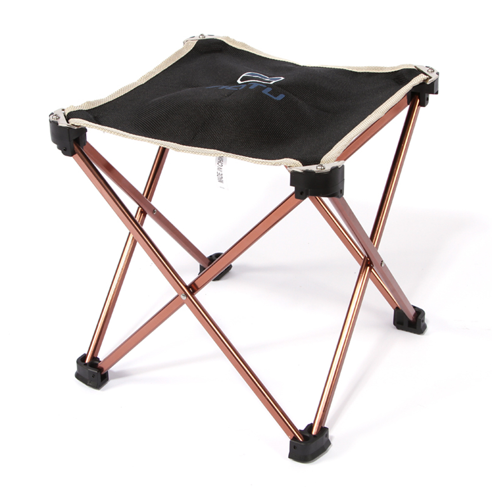 Aluminum folding chair - Aluminum Folding Seat Stool Fishing Picnic Camping Hiking Beach Backpack Chair