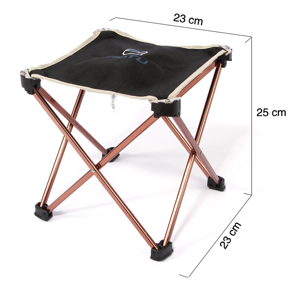 Aluminum Folding Seat Stool Fishing Picnic Camping Hiking