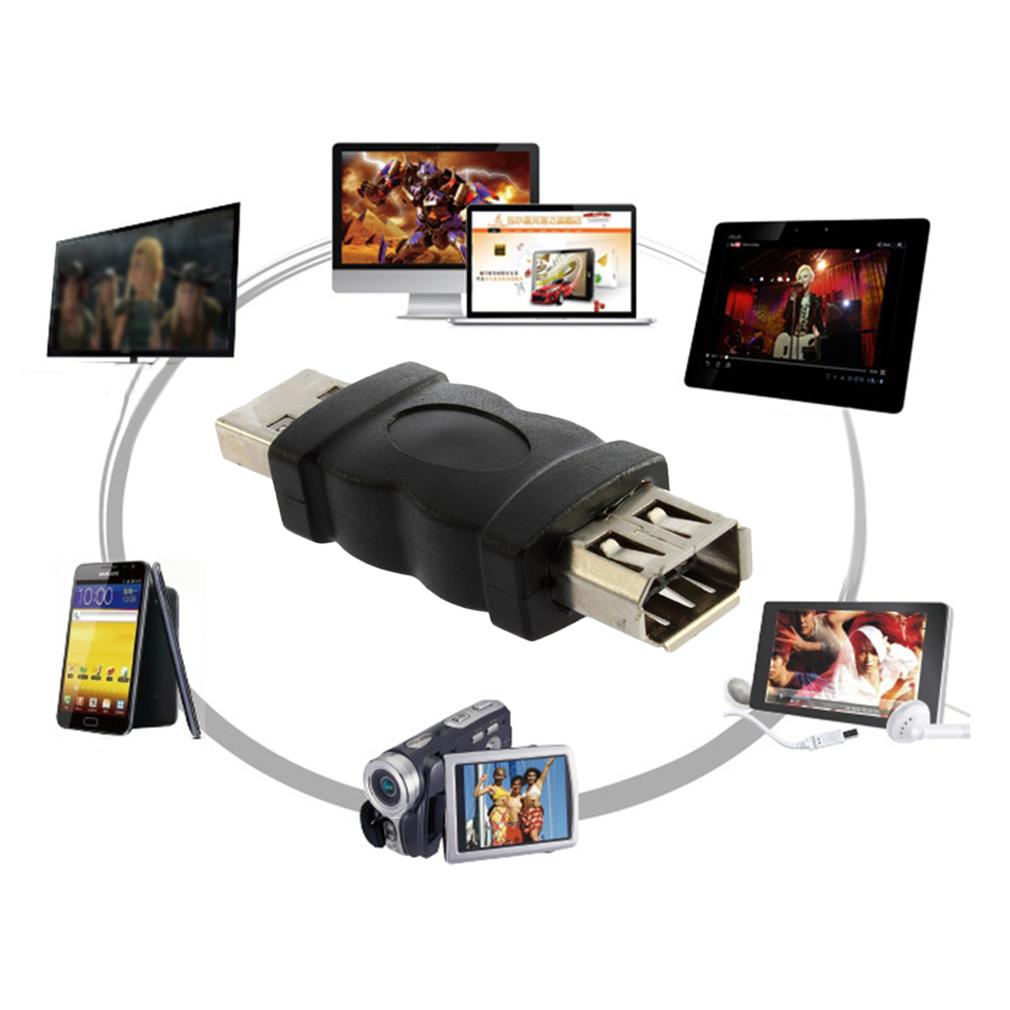 Compra ER Nueva Firewire IEEE 1394 De 6 Pines Hembra A USB Tipo A ...