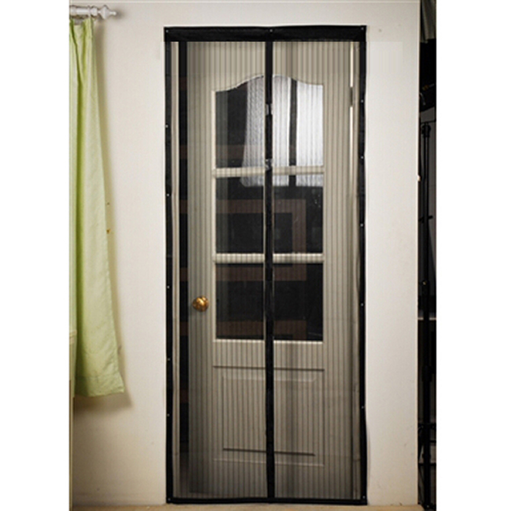 Hands Free Magic Mesh Screen Net Door With Magnets Anti
