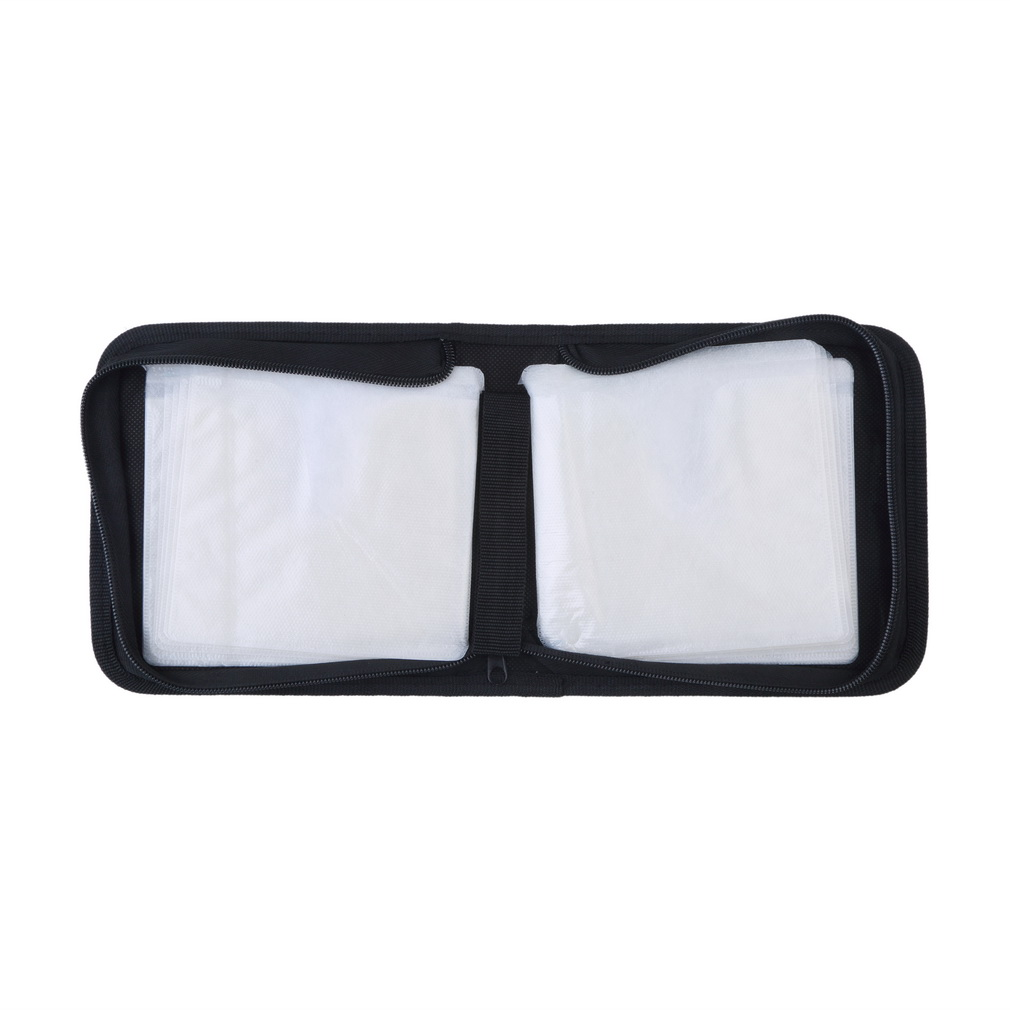 40 Disc Cd Dvd Holder Dj Storage Cover Box Case Organizer Wallet Bag