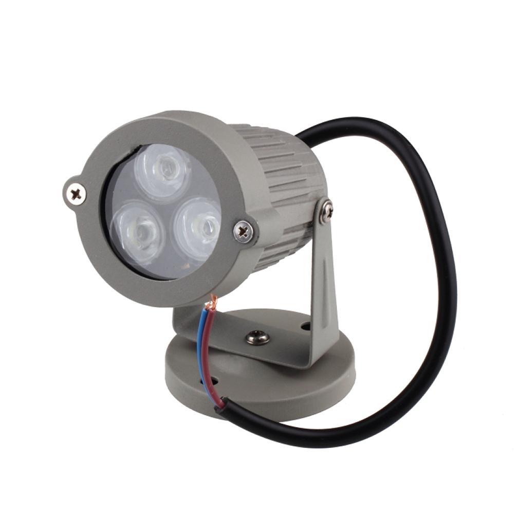 8X 50W 110-220V LED Flood Light Spotlights White Outdoor Garden Security Lamp BT