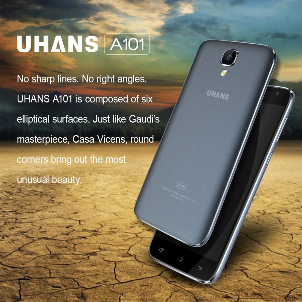 5 uhans a101 4g lte android 6 0 smartphone handy ohne. Black Bedroom Furniture Sets. Home Design Ideas