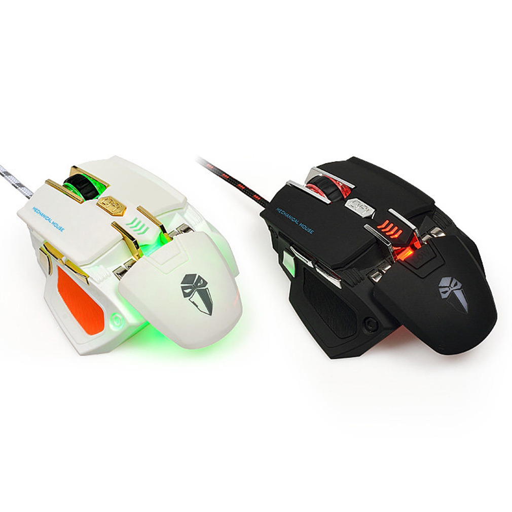 G5 Full Speed Photoelectric braided Wired Gaming Mouse With 3200DPI 9 Keys #16