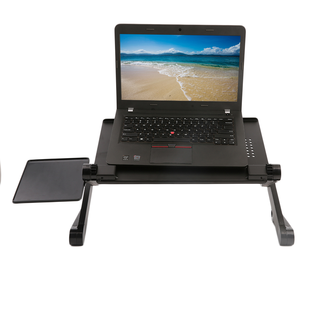 new adjustable foldable laptop notebook desk table stand portable bed tray ebay. Black Bedroom Furniture Sets. Home Design Ideas