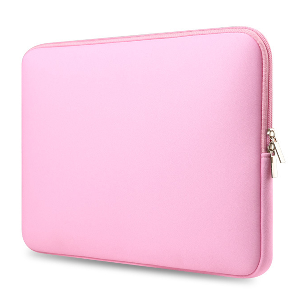Portable Laptop Bag Computer Sleeve Solid Color Notebook