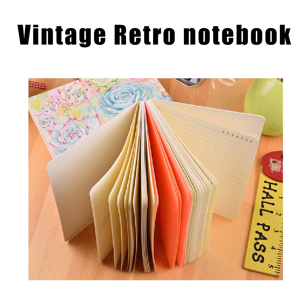 Kraft Paper Book Cover ~ Diary notebook kraft paper cover with car lined
