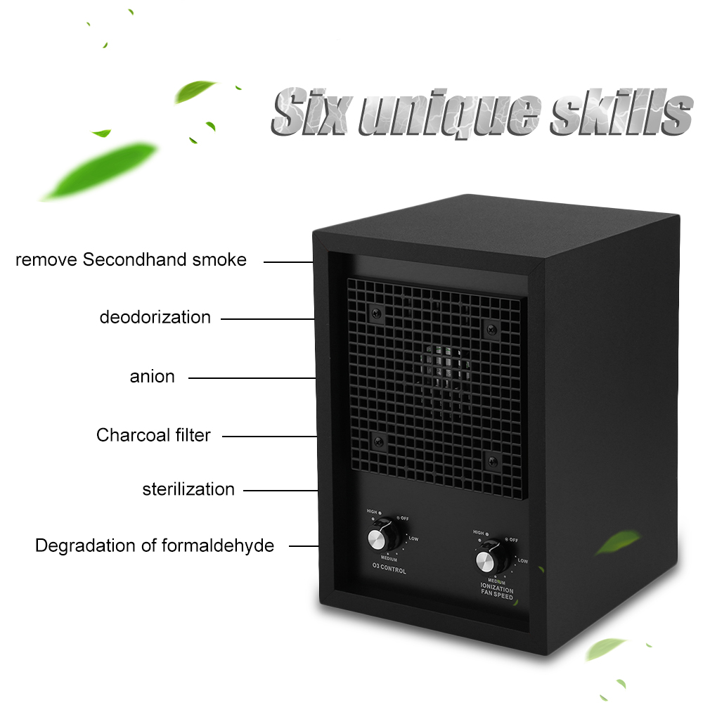New Living Alpine Air Purifier Ionizer Ozone Generator