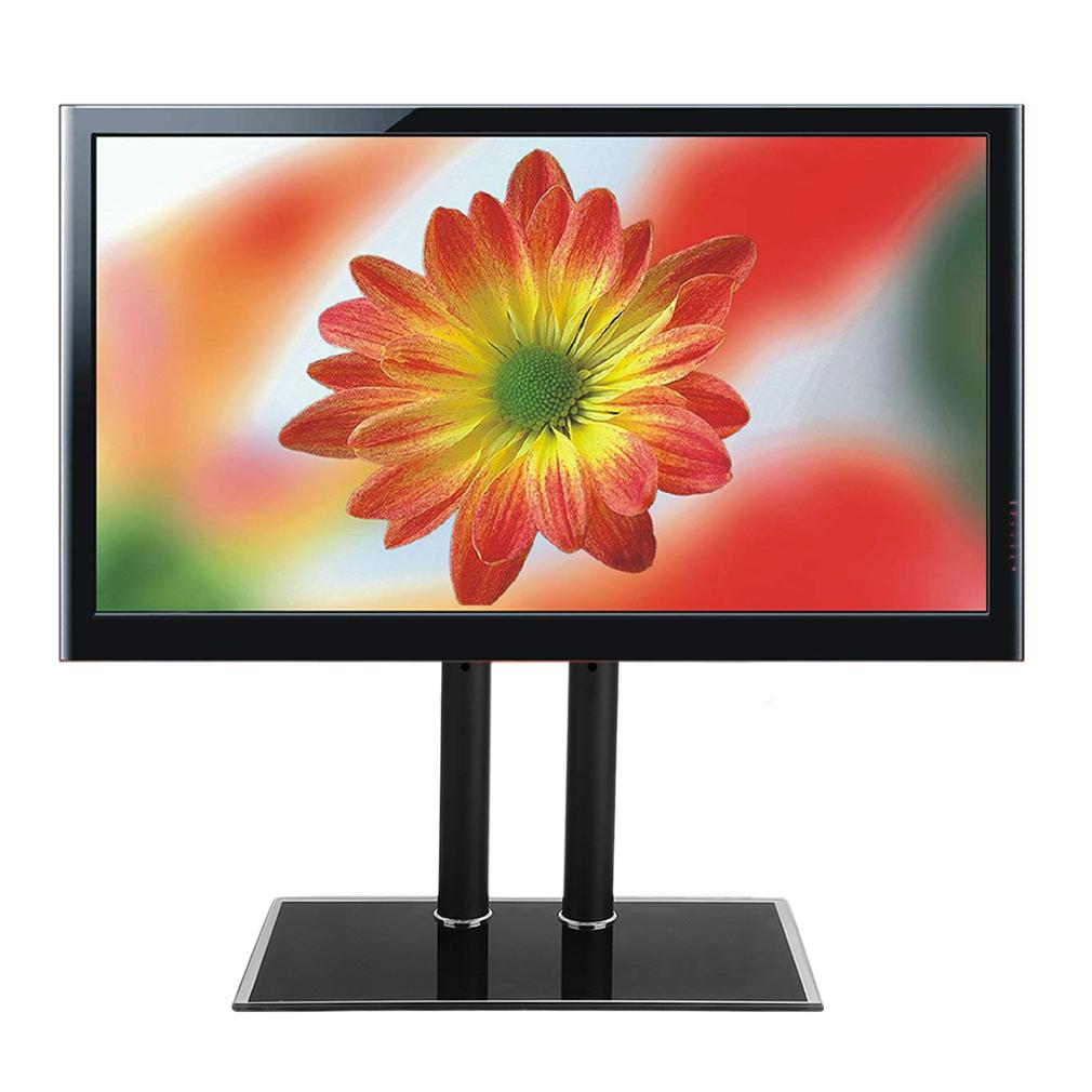 glas universal design tv standfu 32 70 80 180cm led lcd halter halterung se. Black Bedroom Furniture Sets. Home Design Ideas