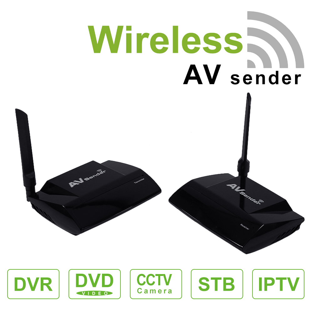 how to connect wireless 5.8 ghz av sender