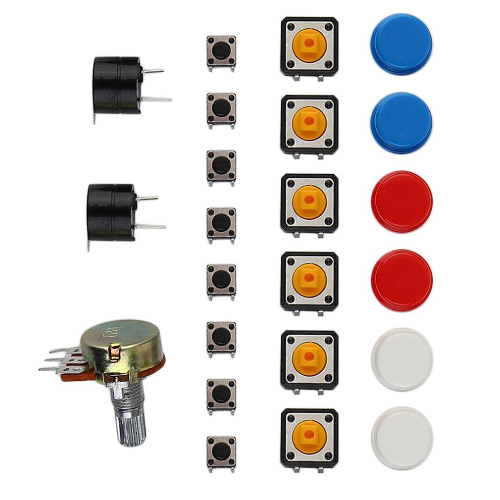 Electronic Fans Kit Starter Learn Kits Breadboard Led Auto Whizzkits Electronics Beginners Project Builders Resistor Buzzer