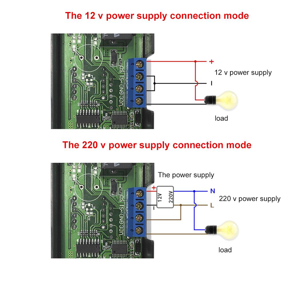 Thermostat Relay Temperature Controller Sensor Digital 12v Dc Led 12 Volt Remote Control Display Metnm