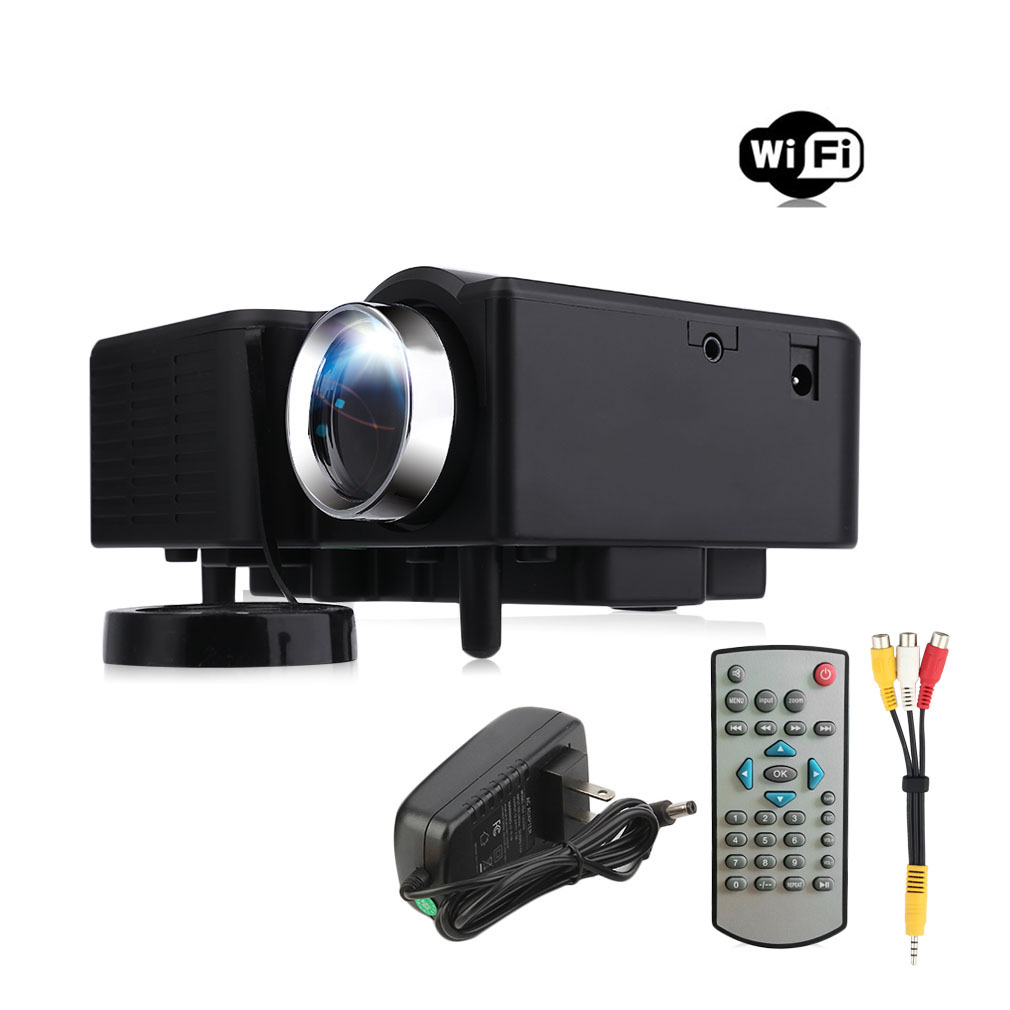 Uc28 pro hdmi portable mini led entertainment projector for Best portable hdmi projector