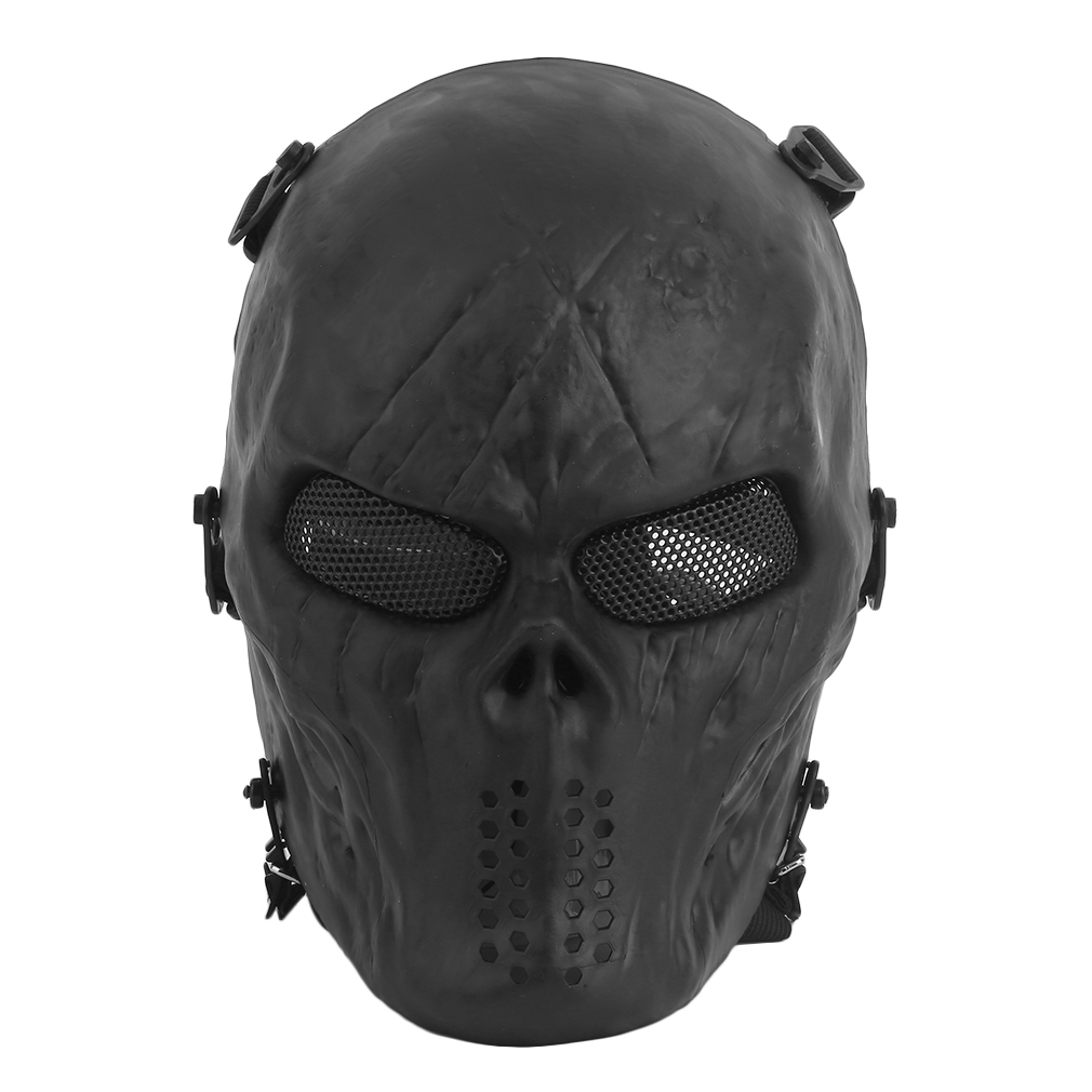 airsoft masks coloring pages | Airsoft Paintball Tactical Full Face Protection Skull Mask ...