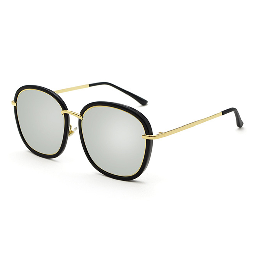 Glasses And Frame Shape : Special Women Outdoor Sunglasses Vintage Round Shape Metal ...