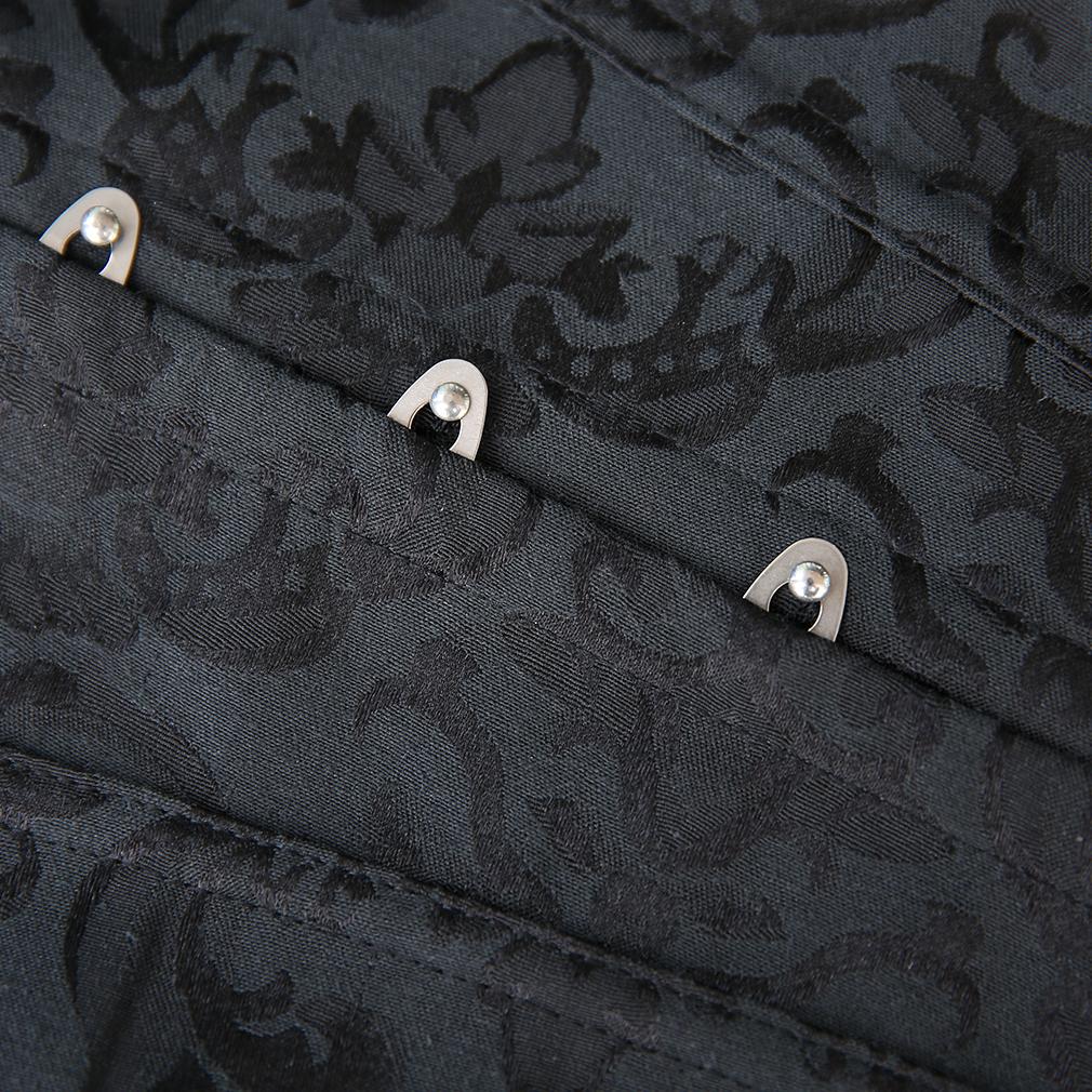 a5ec8bea774e4 Sexy Lady Satin Corset Steel Boned Lace Up Bustier Corset Shapewear Waist DA