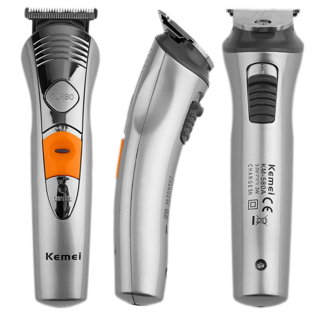kemei 7 in 1 men electric charge hair beard body scissors clipper trim razor ii ebay. Black Bedroom Furniture Sets. Home Design Ideas