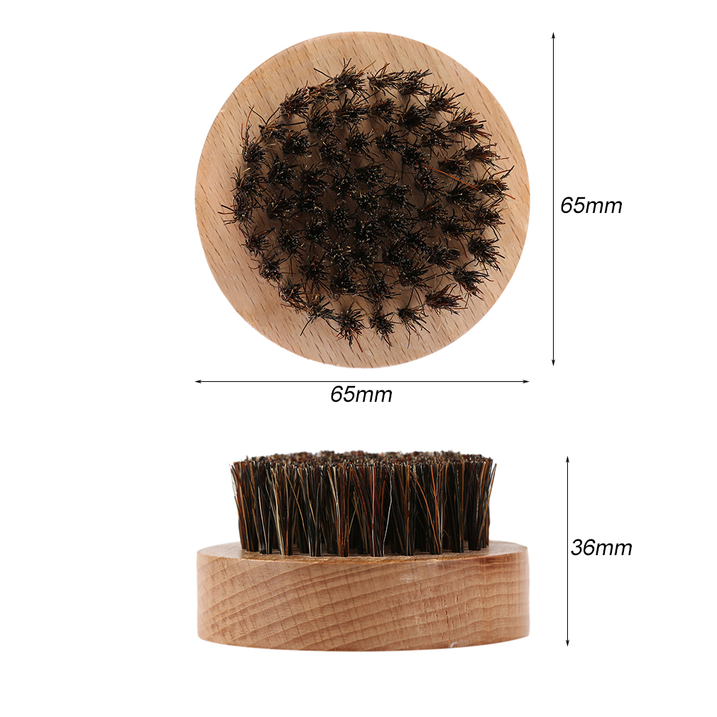 how to clean boar bristle round brush