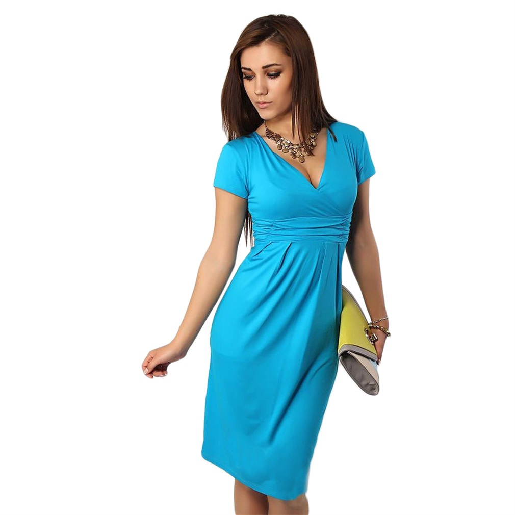Candy colors slim pregnant women summer maternity dress v neck picture 18 of 21 ombrellifo Choice Image