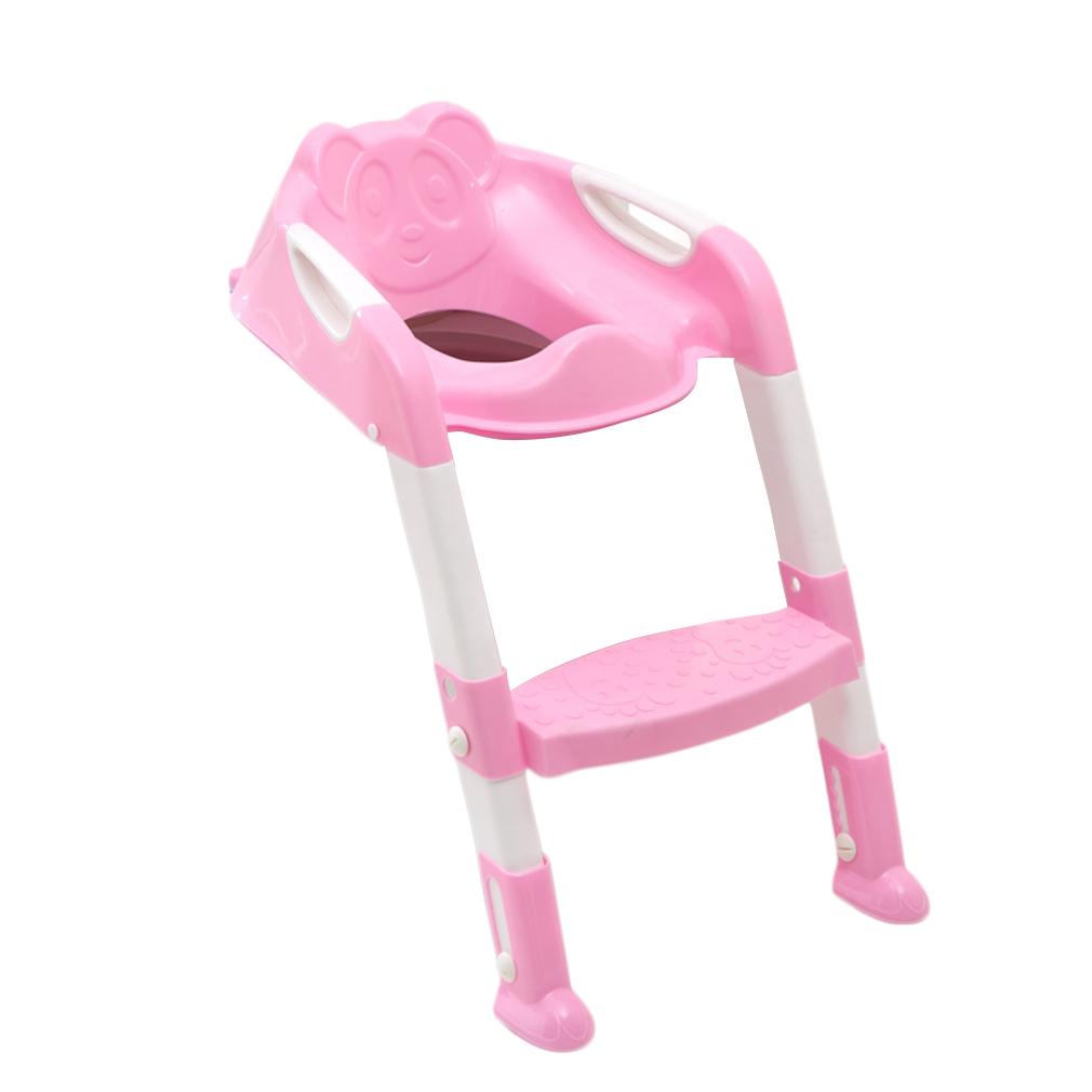 faltbar toilettentrainer baby t pfchen toilettensitz mit. Black Bedroom Furniture Sets. Home Design Ideas