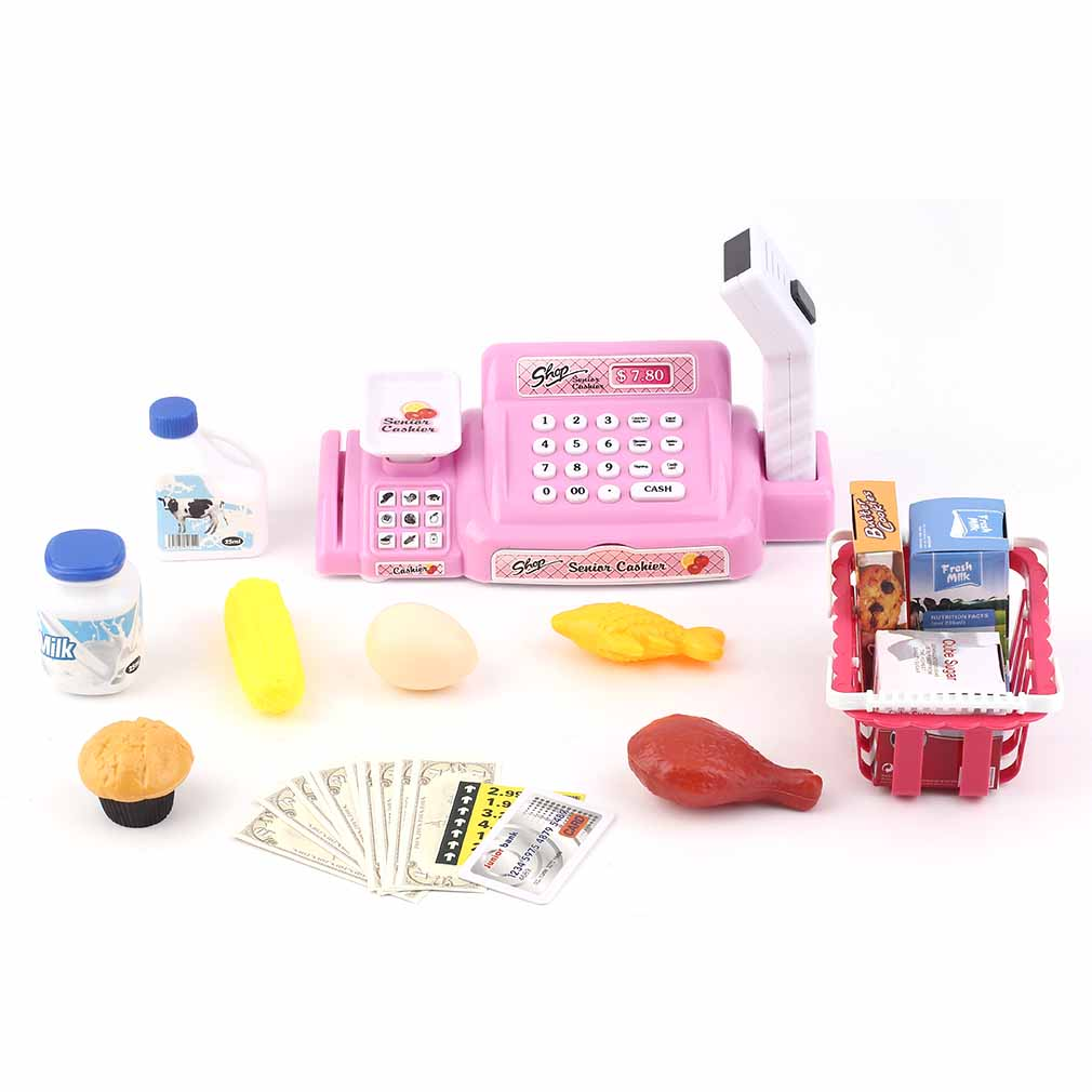 Kinder kasse spielkasse kinderkasse einkaufswagen