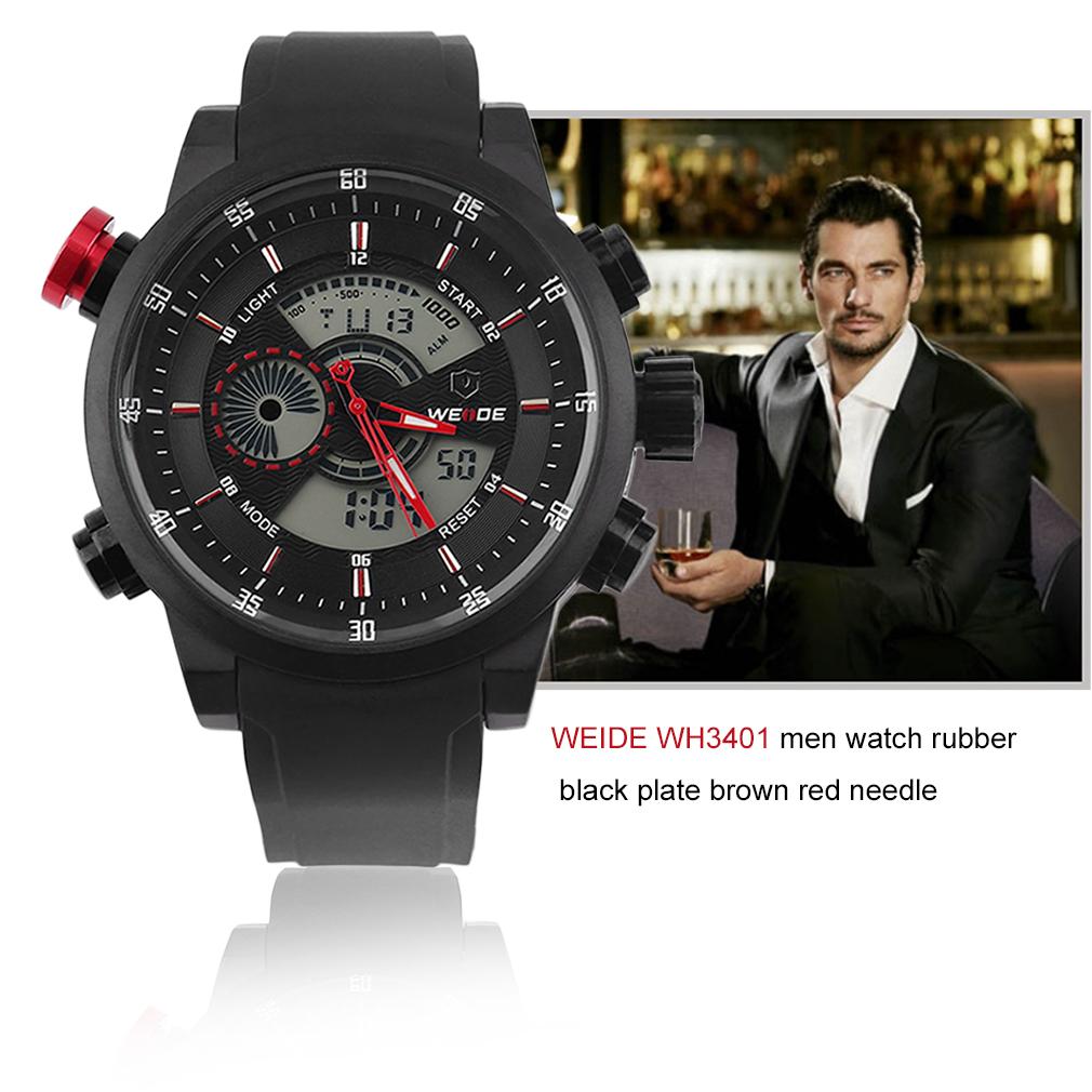 WEIDE Sports Watches Brand Men's Military Watch ...