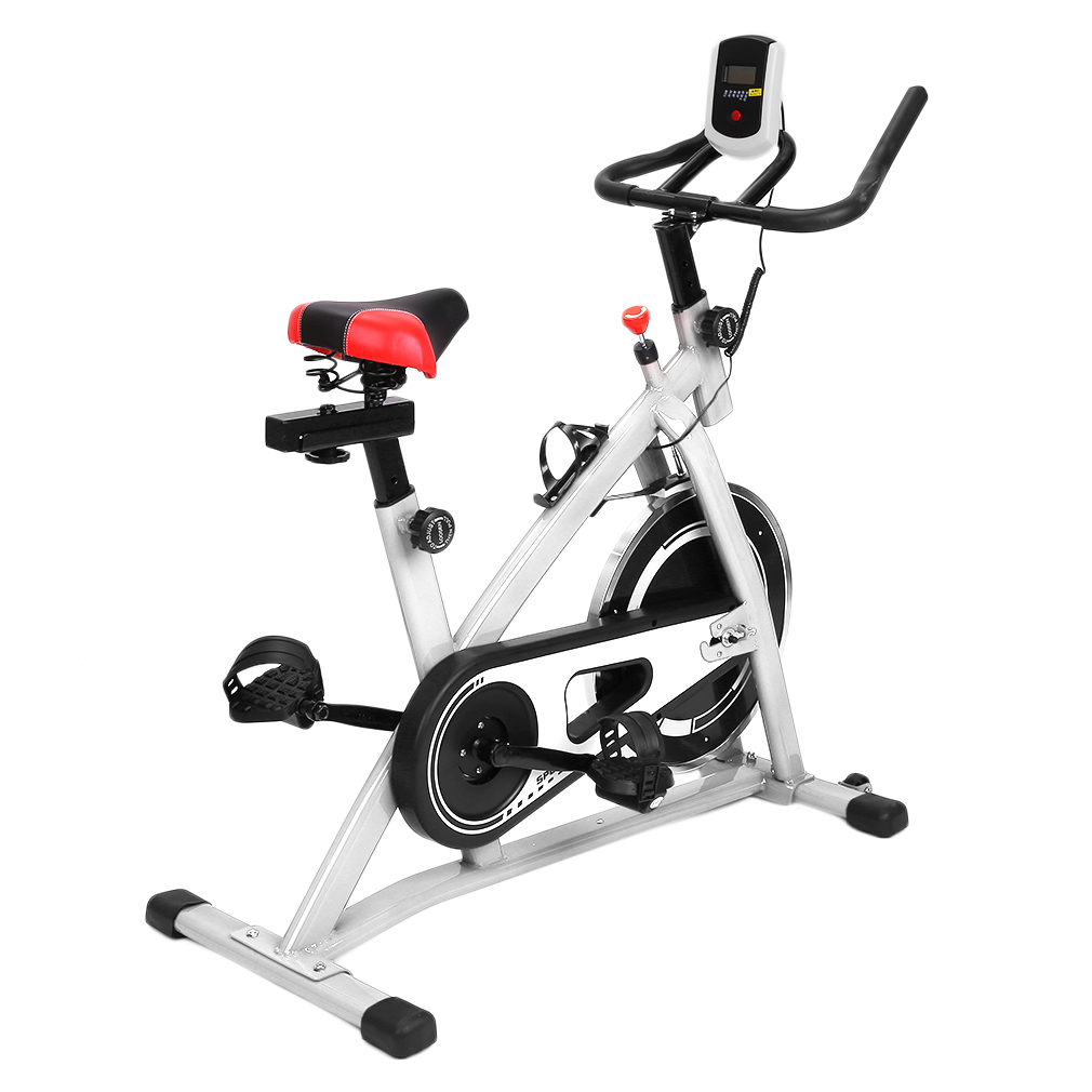 heimtrainer fitnessbike trimmrad ergometer fahrrad computer belastbar bis 150 kg ebay. Black Bedroom Furniture Sets. Home Design Ideas