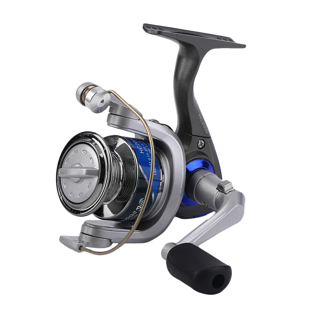 Yumoshi plastic fishing reels left right hand for Left handed fishing reels