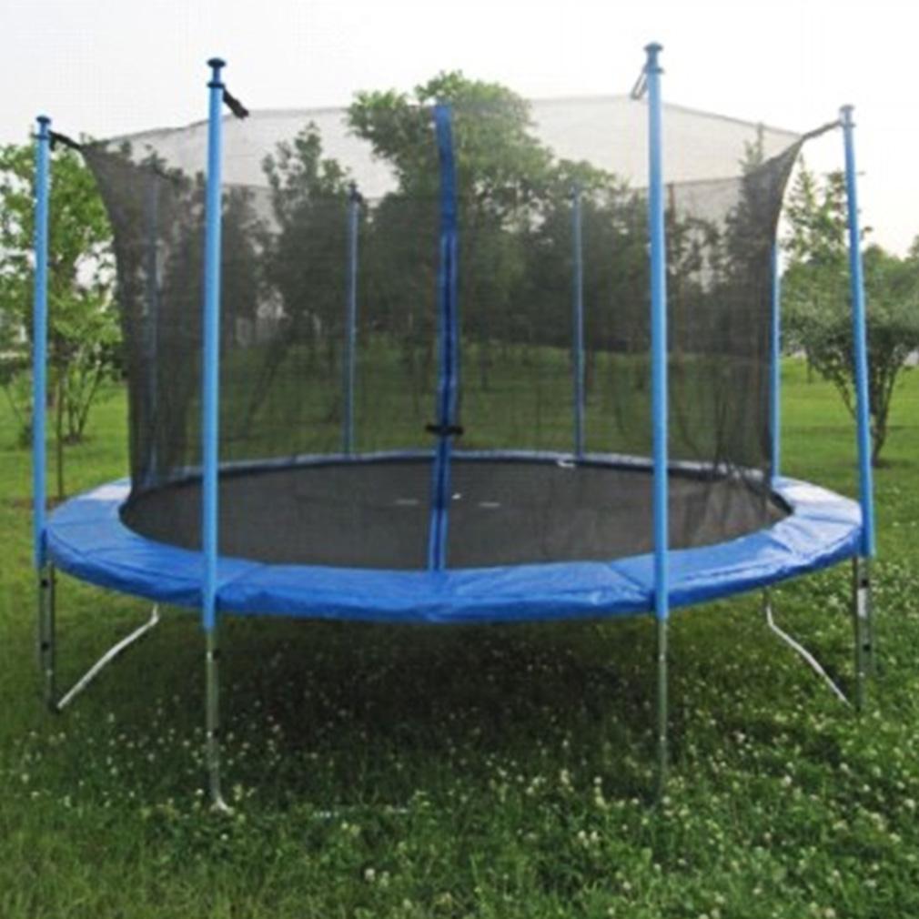 14ft Trampoline Net Fence Safety Enclosure Round Frame