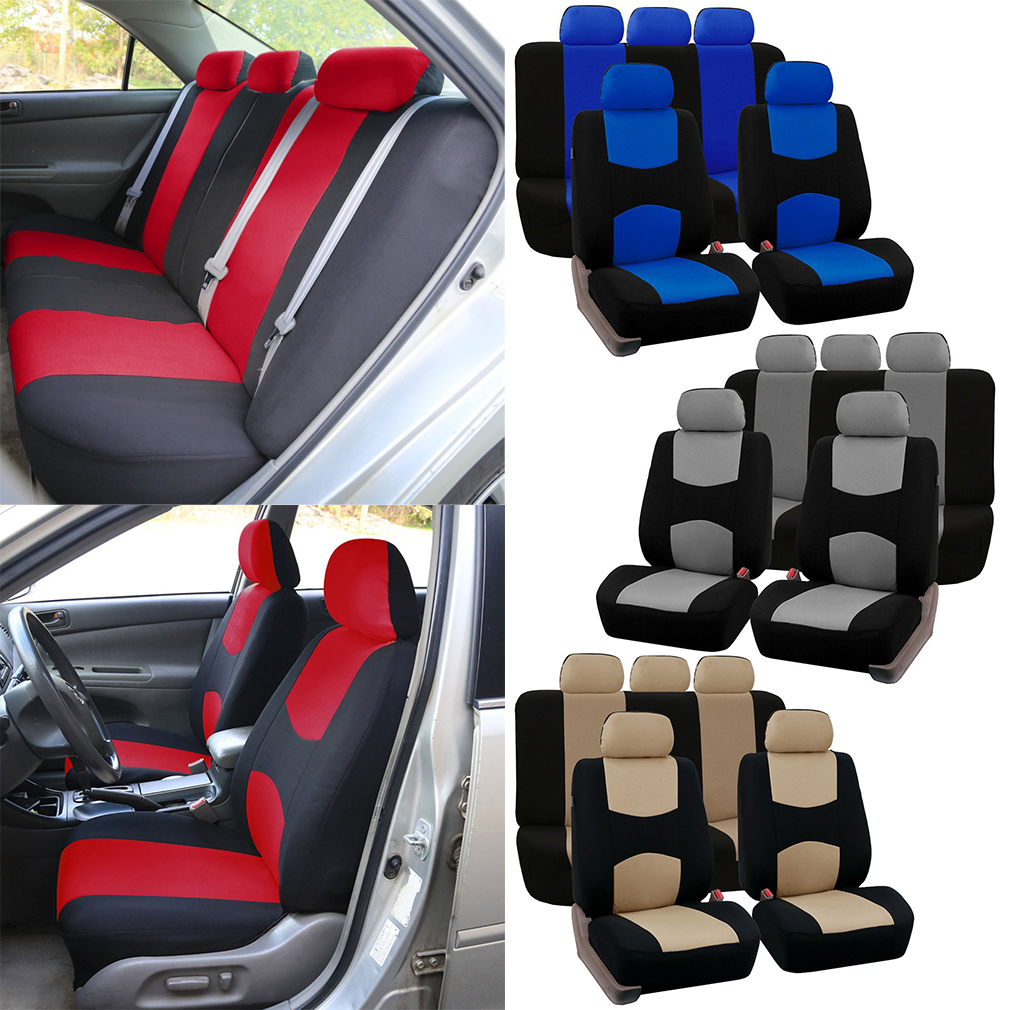 GOOD Front Rear Universal Car Seat Covers Auto Car Seat