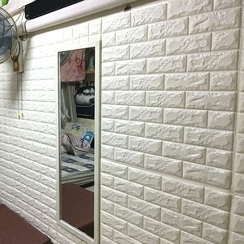 3D Sticker Mural Autocollant Brique Mural Décoration