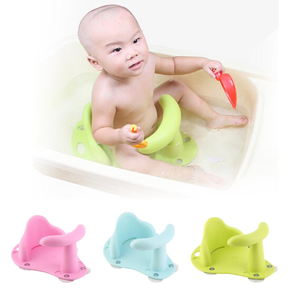 Cute Baby Bath Tub Ring Seat Infant Child Toddler Kids Anti Slip ...
