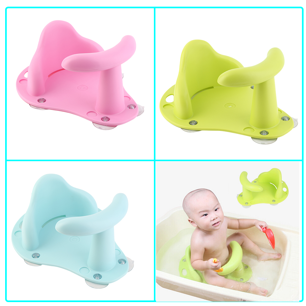 Cute Baby Bath Tub Ring Seat Infant Child Toddler Kids Anti Slip ...