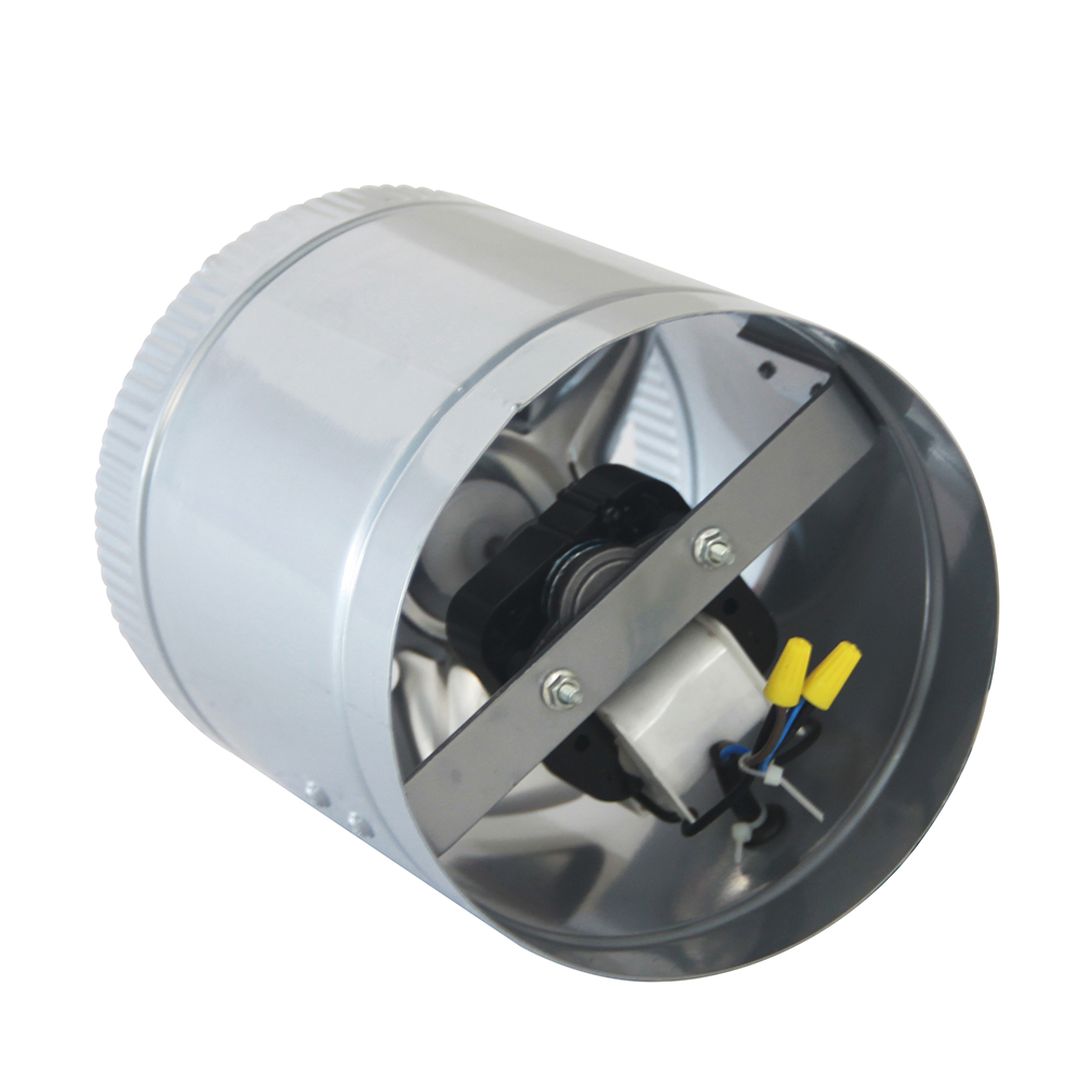 Stainless Steel 6 Inch Inline Fan : Quot inch booster fan inline blower exhaust ducting