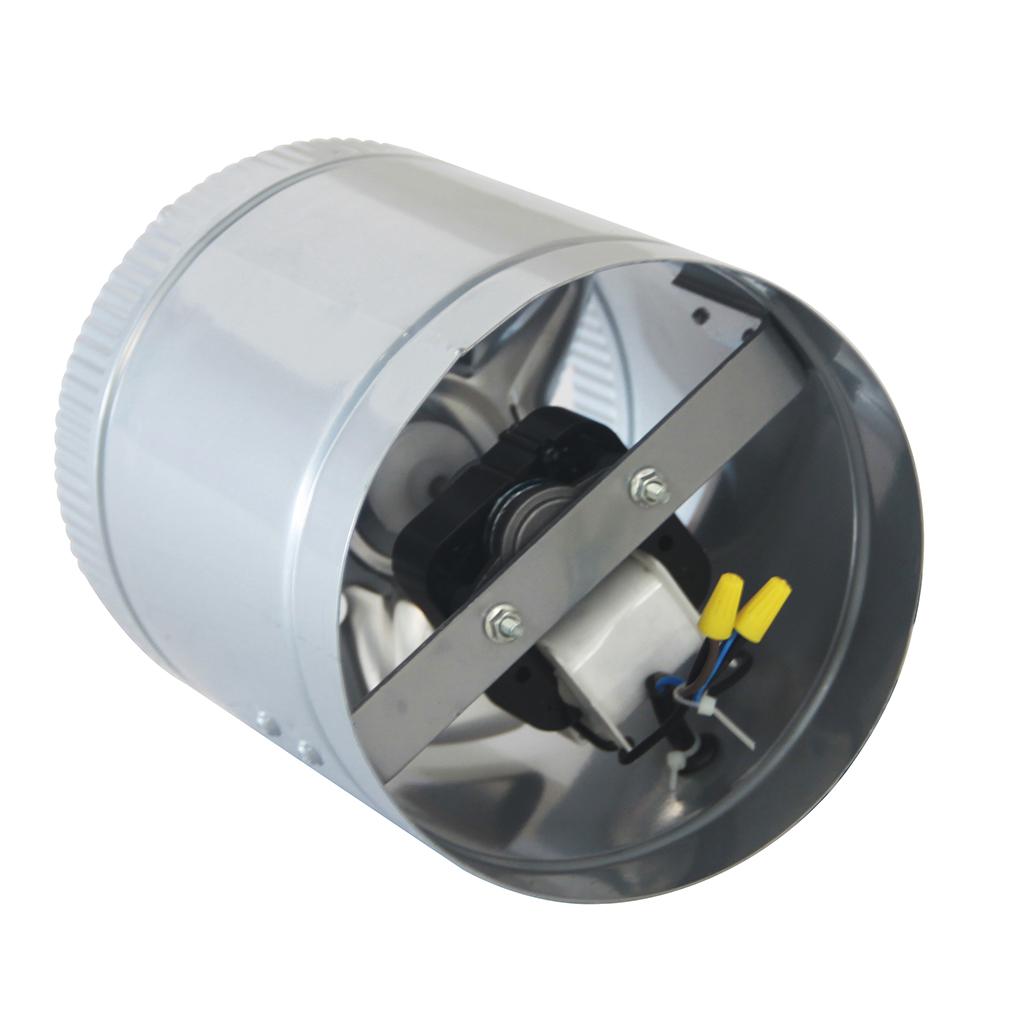 6 Inch Inline Fan : Pk quot inch booster fan inline blower exhaust ducting