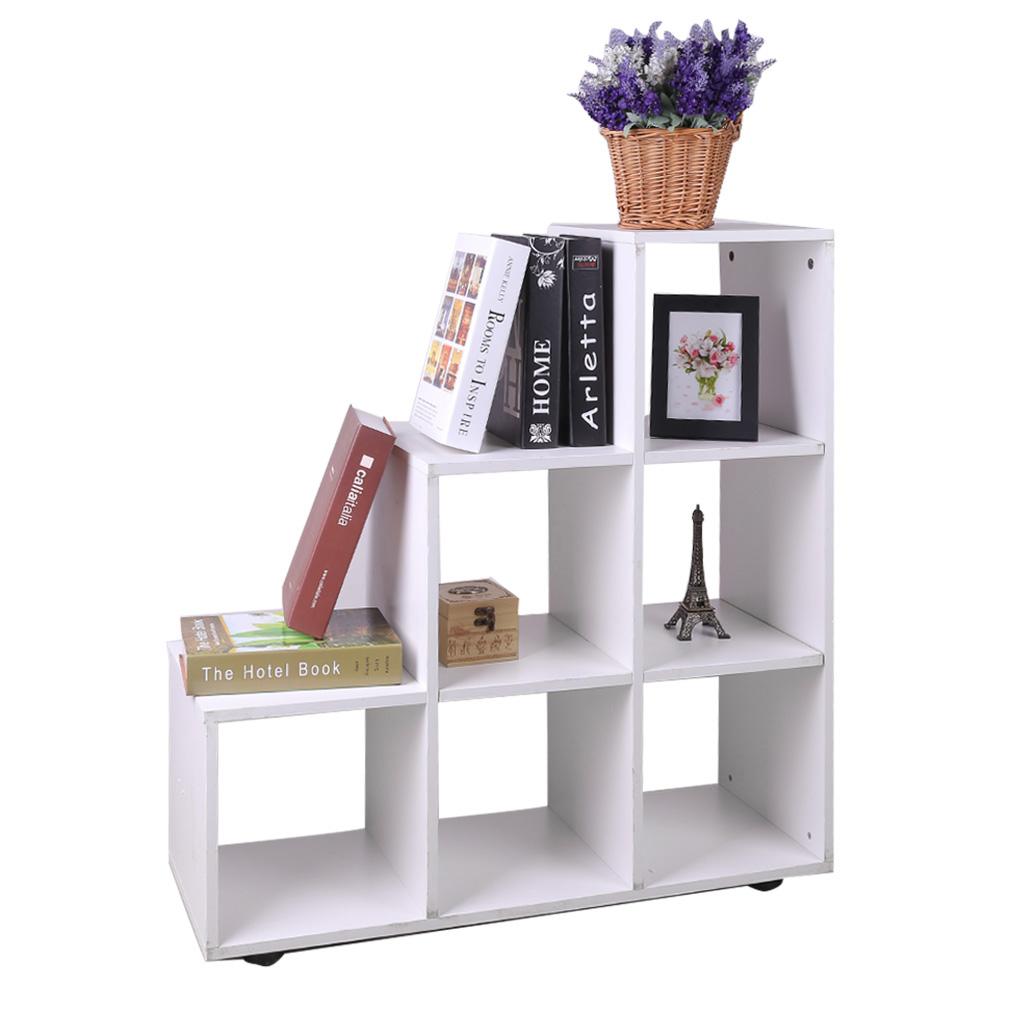 Bibliotheque meuble de rangement bois mobilier bureau for Mobilier bureau rangement