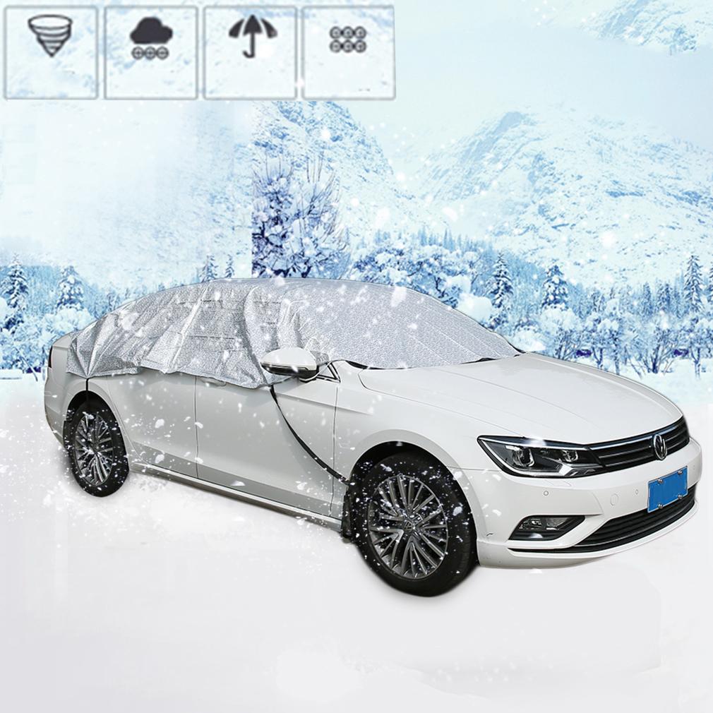 pkw auto abdeckplane halbgarage wintergarage autokapuze gr. Black Bedroom Furniture Sets. Home Design Ideas