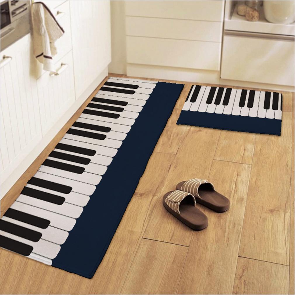 600*400*10mm Piano Carpet Bedroom Bedside Living Room