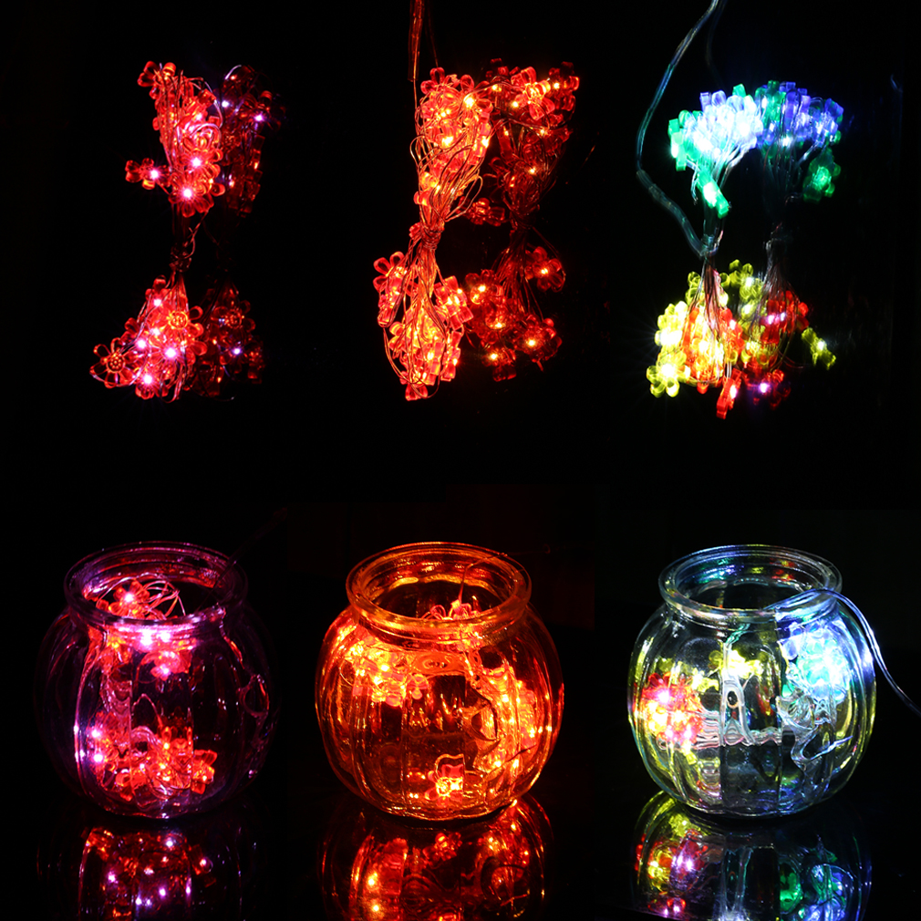 Led String Lights Long : 5M Super Long 50LED Sun Flower Shape LED String Light Garden Wedding Light F5 eBay