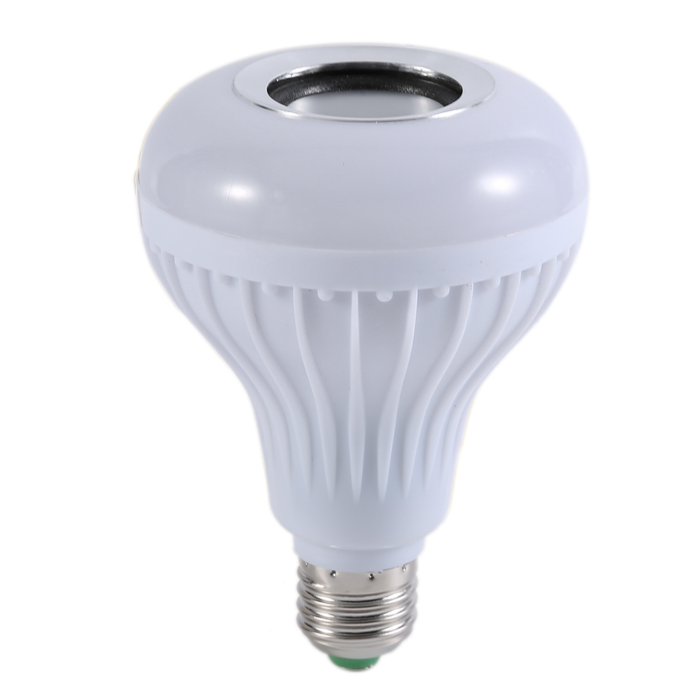 Smart LED Light Bulb Bluetooth Speaker with Remote Control